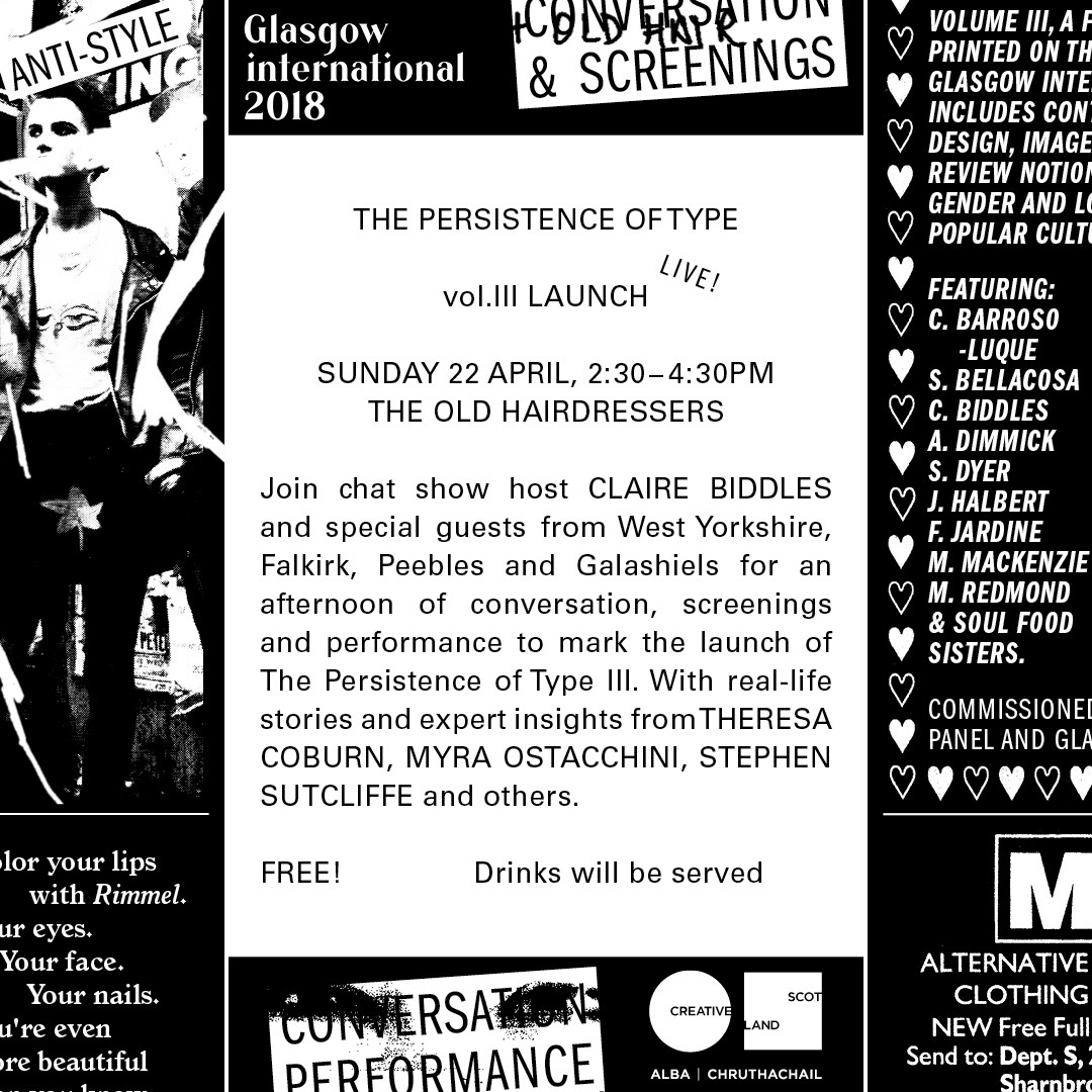 The Persistence of Type Live